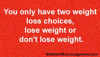 Weight Loss Choices